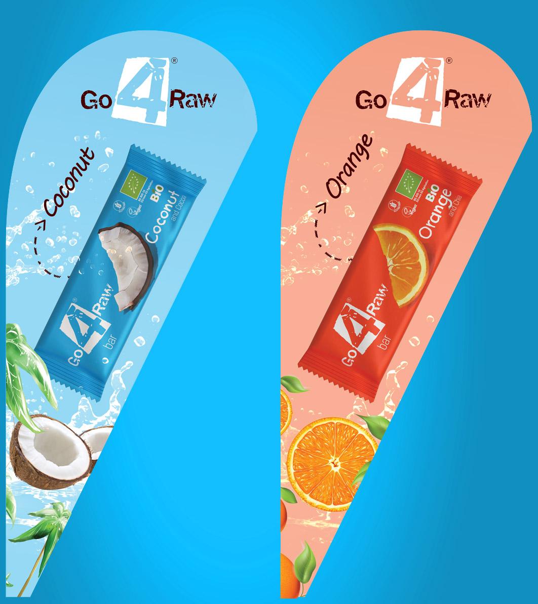 Дизайн на рекламни флагове Go4Raw