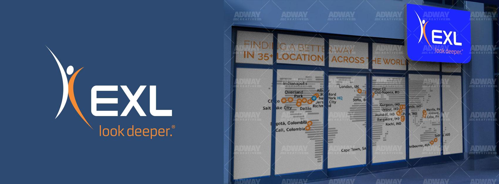 Облепване-на-витрини-и-изработка-на-светеща-табела-за-EXL-България