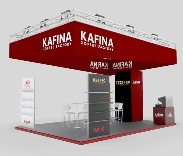 Проектиране на щанд за Kafina 1