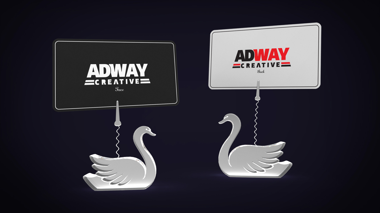 Темплейт за представяне на дизайн Swan 1