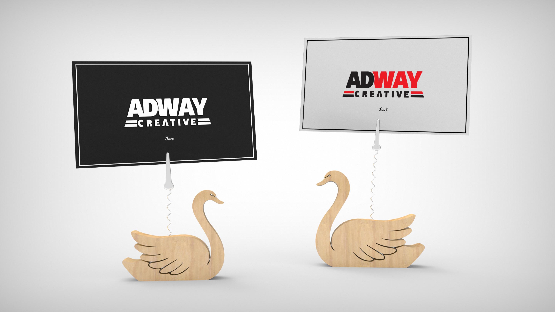 Темплейт за представяне на дизайн Swan 2