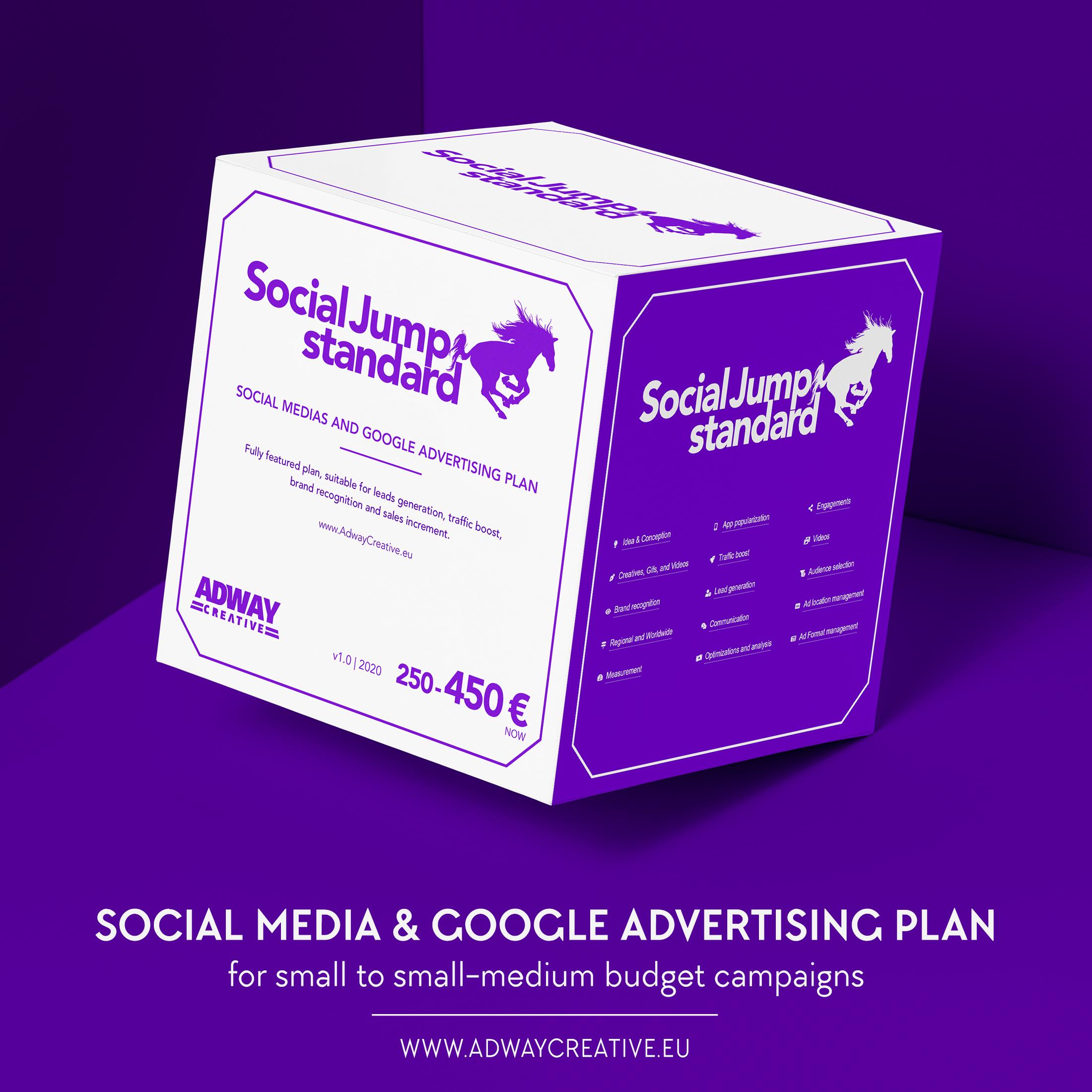 план за реклама във фейсбук и google - SJ Standard
